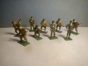 Blue Box Elite Command WW2 US American Infantry 9 figure rare expanded set