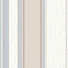 SYNERGY STRIPE GLITTER WALLPAPER TAUPE - VYMURA M0784