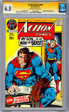 ACTION COMICS #400 CGC SS 6.5 <> SIGNED BY NEAL ADAMS <> 400TH ANNIV ISSUE 1971