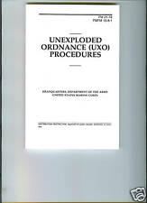 Unexploded Ordnance (UXO) Procedures