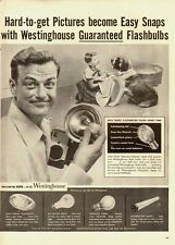 1955 Vintage ad for Westinghouse Flashbulbs  (050912)