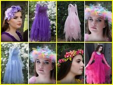 Deluxe Woman's  Enchanted Fairy Costume~ Renaissance Dress ~ FREE Tulle Halo