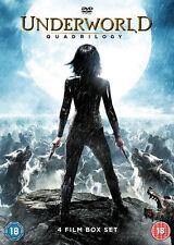 Underworld Quadrilogy DVD Kate Beckinsale 24h Delivery