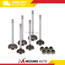Intake Exhaust Valves w/ Seals Fit 85-88 Chevrolet Sprint Turbo 1.0 G10 6V