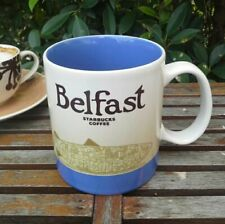 Original Starbucks City Mug 16 oz BELFAST, NORTHEN IRELAND series 2016