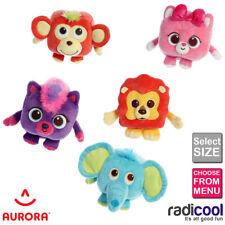 Aurora Cuby Zoo 5 y 8 de pulgada de Peluche Juguetes de Peluche suave forma de cubo para niños Niños Regalo