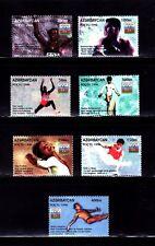 SELLOS DEPORTES AZERBAIYAN 1986 267/73 7v. Atletismo/Marakesli/Karl levis/Boxeo