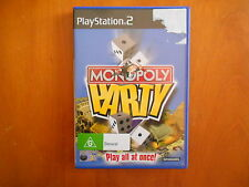 PS2 MONOPOLY PARTY COMPLETE WITH MANUAL V GD COND