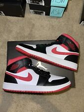 Jordan 1 Mid Gym Red Metallic Red Sz 8.5 Brand New 100% Authentic!
