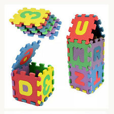 36pcs Baby Puzzle Game Educational Toy Alphabet Number Foam Mat Pad Gifts