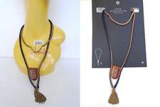 New ZARA statement Jewelry necklace Metal Tribal Rustic Rhinestones party 538