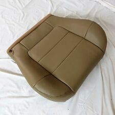 2000 -02 FORD F.150 LARIAT Crew  Cab XL Driver Bottom Leather Seat cover TAN  HH
