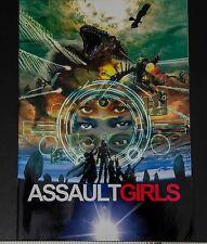05516 Mamoru Oshii Meisa Kuroki Rinko Kikuchi ASSAULT GIRLS Japan Movie Program