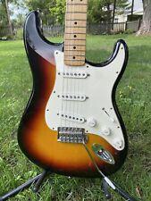 2008 Fender Stratocaster Standard Edition MIM Sunburst - NICE!!