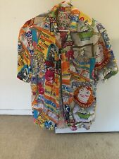 Mens Jams World Hawaiian Shirt-small