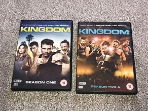 KINGDOM : SEASONS ONE & TWO A -  6 DISC DVD BOXSETS IN VGC (FREE UK P&P)