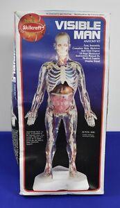 Skilcraft Visible Man Anatomy Model Kit No.74622  Complete                 #3844