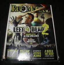 Rue Morgue #95 Left 4 Dead 2/William Castle/Tingler/SFX/Stephen King/I Sell Dead