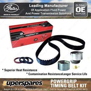 Gates Cam Timing Belt Kit for Mazda 323 Astina Protege BJ BA 626 Familia Premacy