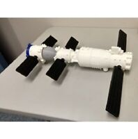 3d printed Chinese space capsule Shenzhou, Tiangong-1 Space Station spacecraft