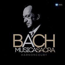 NIKOLAUS/CMW HARNONCOURT - MUSICA SACRA  2 CD NEU BACH,JOHANN SEBASTIAN