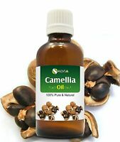 CAMELLIA OIL 100% NATURAL PURE UNDILUTED UNCUT CARRIER OIL 50ml to 500 ml
