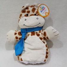 Giraffe Safari Buddy Hand Puppet Wilko hug m s