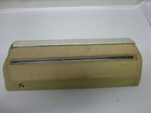 68-70 Chevrolet Oldsmobile Coupe RH Arm Rest Armrest Base Cream USED 7745376