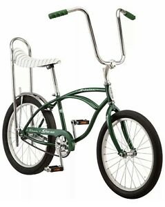 New 2020 Schwinn Stingray Sting Ray banana seat muscle bike green