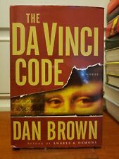The Da Vinci Code by Dan Brown (2003, Hardcover) *Large Print Edition*