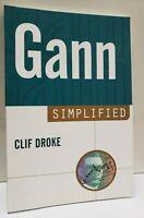 GANN SIMPLIFIED by Cliff Droke ~BRAND NEW ~ PAPERBACK ~