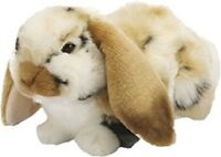 LIVING NATURE LARGE LOP EARED RABBIT AN316 BROWN OR GREY BUNNY RABBITS SOFT TOY