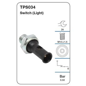 Tridon Oil Pressure Switch TPS034 fits Volvo 940 2.3 (944), 2.3 (945), 2.3 Tu...