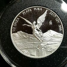 2017 MEXICO PROOF SILVER 1/2 OZ WINGED ANGEL COIN