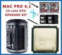 Apple Mac Pro 6.1 Late 2013 2.7GHz E5-2697 v2 12-Core Xeon CPU Upgrade kit SR19H