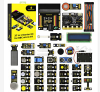 KEYESTUDIO 37 in 1 Electronic Sensor Breakout Starter Kit for BBC MicroBit Set