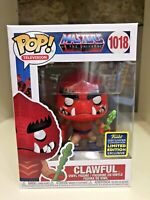 CLAWFUL SDCC 2020 CONVENTION EXCLUSIVE FUNKO POP MASTERS OF THE UNIVERSE #1018