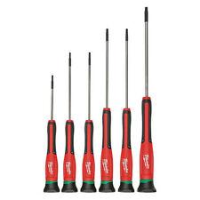 Milwaukee 48-22-2610 Precision Screwdriver Set,Torx(R),6 Pcs