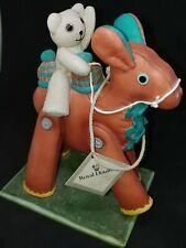 VTG Royal Doulton Ornament Teddy Bear & Horse Looking for Sailor Jane Hissey