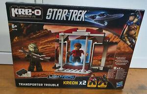 Star Trek Transporter Trouble Kreo A3140 Kre-o Lego Compatible Klingon BNIB