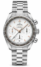 Omega Speedmaster Co-Axial Chronograph Stahlarmbanduhr für Damen - 324.30.38.50.02.001