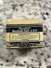 Rexall Puretest United Drug Antique Rochelle Salt apothecary medical tin vintage