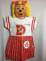 Vintage Halloween Costume 1985 Get Along Gang Dottie Dog American Greetings Corp