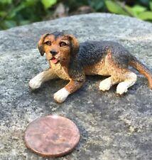 Dollshouse Miniatura Springer Spaniel Perro Sentado ~ ~