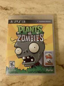 Plants vs. Zombies(Sony PS3,2011) Complete