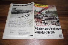 SOLDATENGESCHICHTEN  # 18 / 1958 -- GUDERIANS ENTSCHEIDENDER PANZERDURCHBRUCH