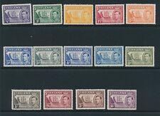 St. Helena 1938 SG 131-40 MNH