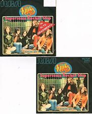 45 giri The Kinks - Supersonic Rocket Ship / You Don't Know My Name (ITA 1972)