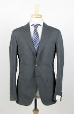 NWT. CARUSO Gray Silk 3/2 Button Suit 54/44 R $1875