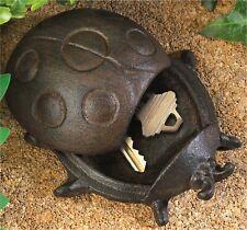 Ladybug Cast Iron Key Hider And Yard Decor * Nib